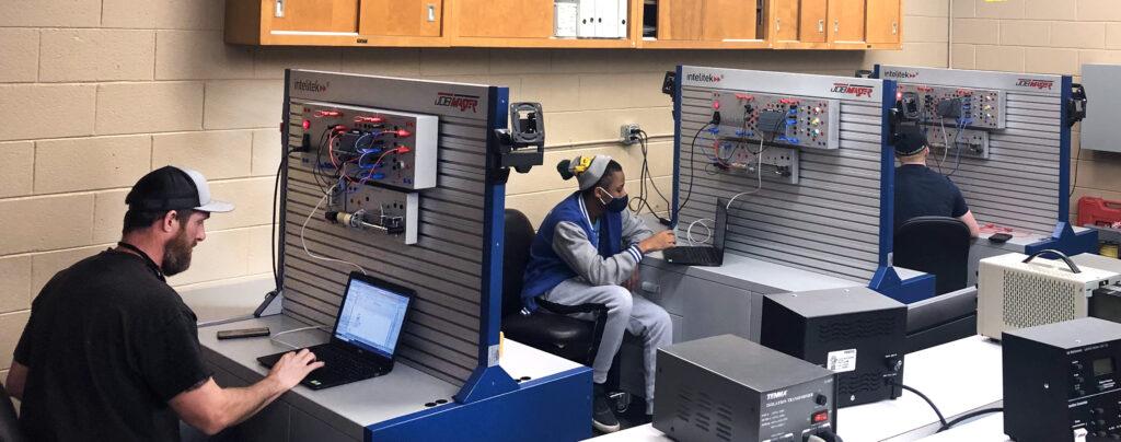 Cleveland Community College Automation Training
