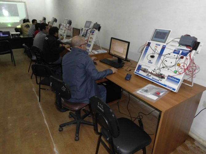 SNPP San Lorenzo Intelitek PLC